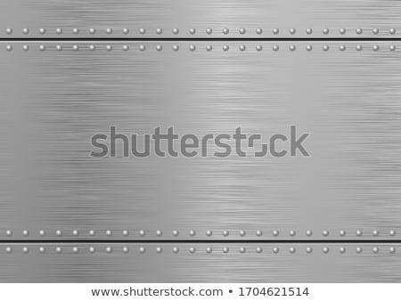 Ragyogó fém textúra nézőpont textúra technológia vasaló Stock fotó © ssuaphoto