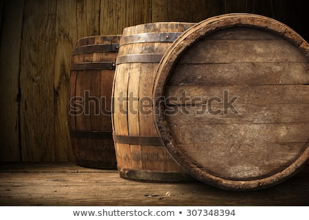 wood wine barrels in a winery Stock photo © daboost