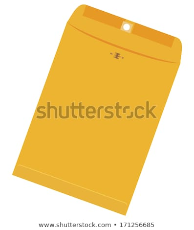 Open used yellow envelope stock photo © Cipariss