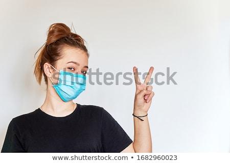 Woman with a positive attitude Stock photo © RazvanPhotography