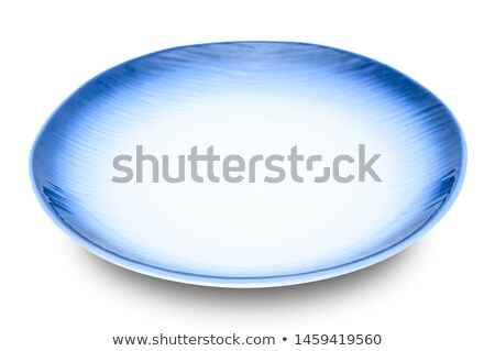 Empty white ceramic dish Stock photo © homydesign