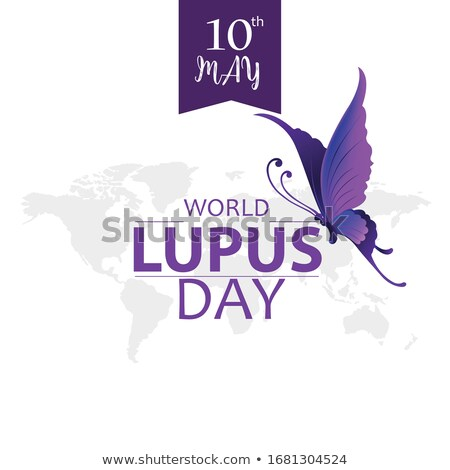 Illustration World Lupus Day Stock photo © Olena