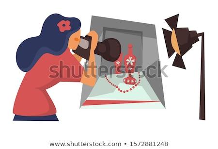 Photographer Making Shot of Still Life Composition Stock photo © robuart