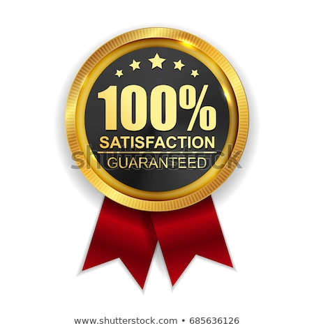 High Quality Guarantee Golden Stamp, Guaranteed Satisfaction Con Stock photo © olivier_le_moal