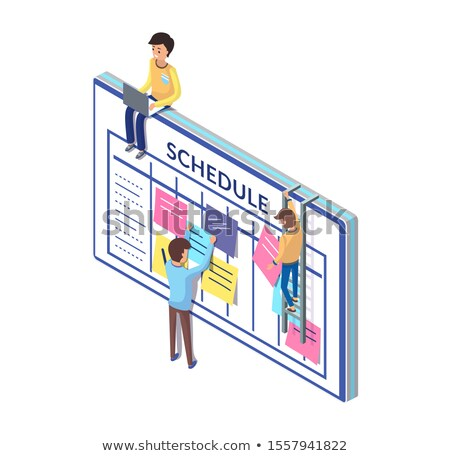 lembrete · ilustração · data · projeto · tempo - foto stock © robuart