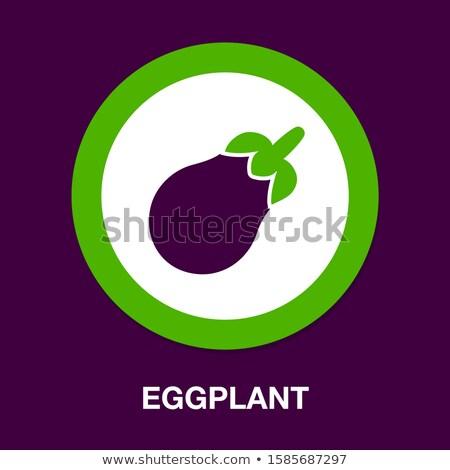 Vers aubergine illustratie aanbieden japans evenementen Stockfoto © Blue_daemon