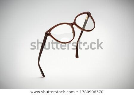 Stok fotoğraf: Uçan · gözlük · reklam · fotoğraf · gölge · yalıtılmış