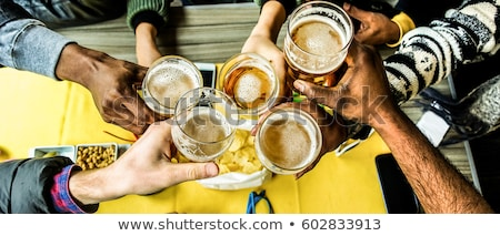 Toast of buddies Stock photo © pressmaster