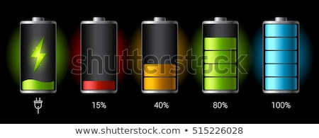 fully discharged battery icon stock photo © romvo