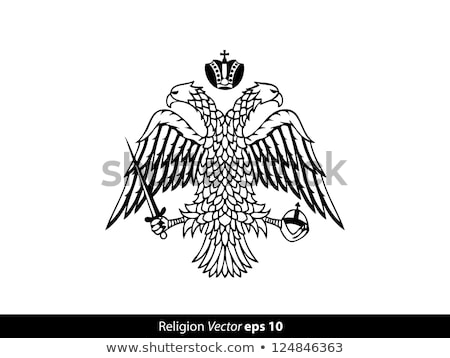 Byzantine Eagle with Crown Stock photo © sifis