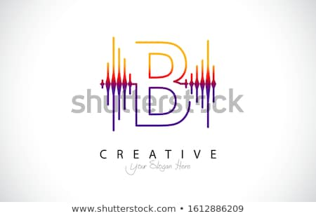 abstract abc sound wave illustration stock photo © lenm