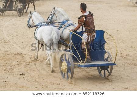 carriage, Rome Stock photo © borisb17