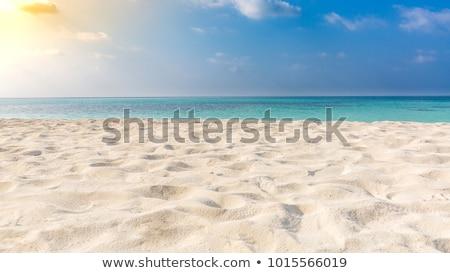 macio · onda · mar · praia · sol · luz - foto stock © boggy