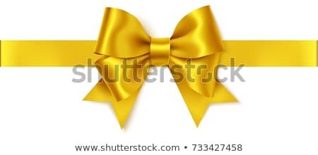 Lujo regalos dorado arco vacaciones Foto stock © Anneleven