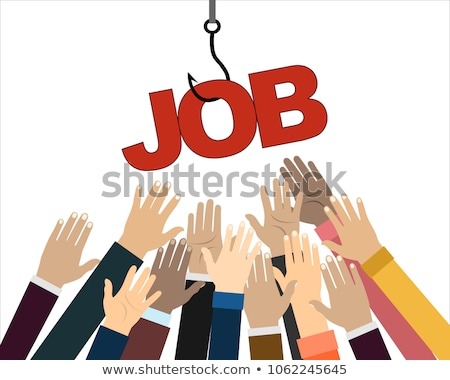 Job on a hook Stock photo © montego