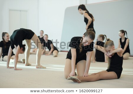 Increasing toe point at ballet class Stock photo © pressmaster