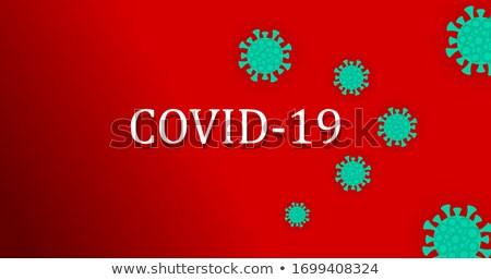 coronavirus covid 19 pandemic virus infection outbreak background stock photo © sarts
