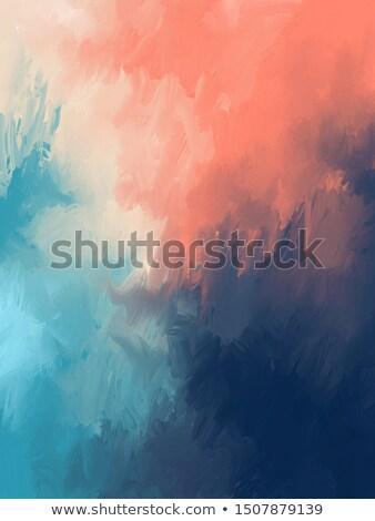 Gradation mountains with light fog. Stock photo © Ansonstock