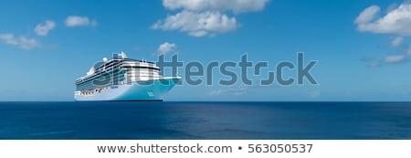 cruzeiro · mar · grande · navio · de · cruzeiro · água - foto stock © joyr