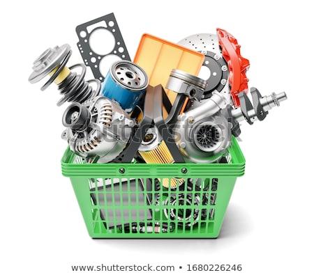 Autopeças compras trabalhar metal esportes compras Foto stock © Paha_L