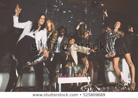 Groupe Noël caravane personnes différent Photo stock © Jesussanz