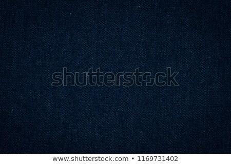 Donkere denim materiaal ontwerp Blauw kleding Stockfoto © nicemonkey