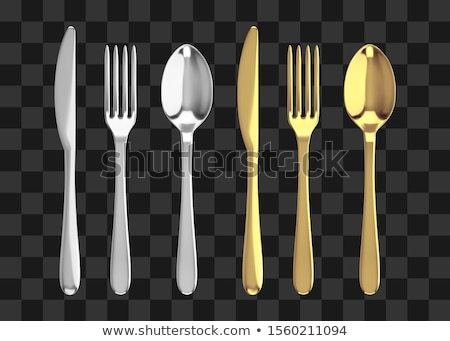 Silver Ware Stock photo © curaphotography