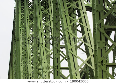 Eski yeşil Metal Stok fotoğraf © njnightsky