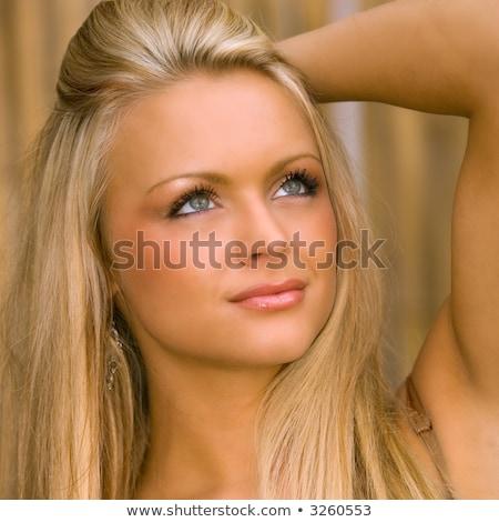 Blonde Covergirl Stock photo © ColinCharisma