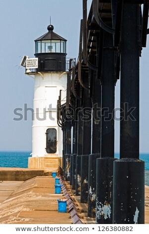 küçük · deniz · feneri · iki · ışıklar · kuzey · iskele - stok fotoğraf © Kenneth_Keifer