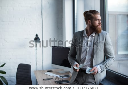 бизнесмен наличных служба исполнительного работник Сток-фото © photography33