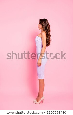 Profile snap of a confident young woman Stock photo © stockyimages