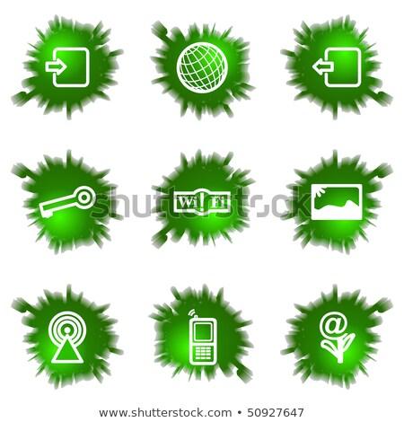enyém · képek · ikon · 3D · számítógép · ikon · üzlet - stock fotó © kjpargeter