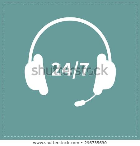 Stoppen telefoon ondersteuning jonge zakenman aanbieden Stockfoto © silent47