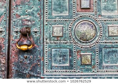 elegant door knocker stock photo © lightsource