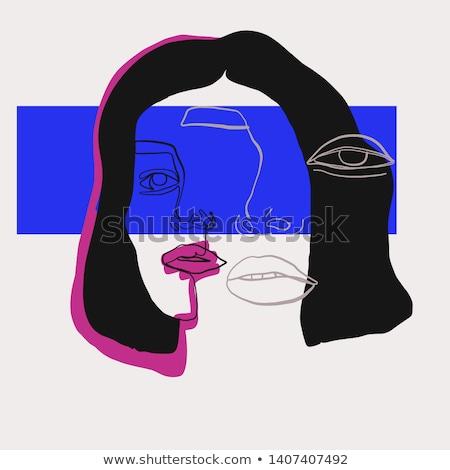 Sixties estilo mulher branco cara Foto stock © wavebreak_media