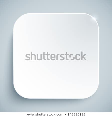 üres · fehér · háló · interfész · ikon · átlátszó - stock fotó © make