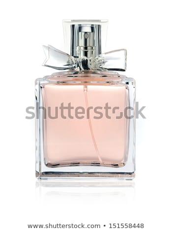 dois · perfume · garrafas · isolado · branco · moda - foto stock © shutswis