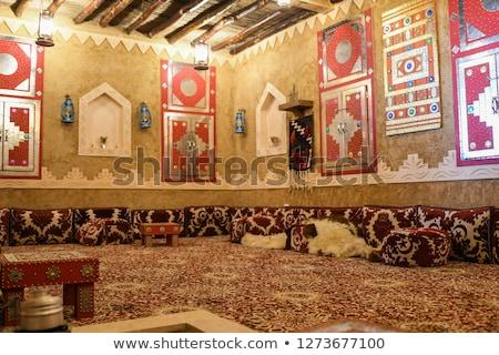 Alten arabisch Architektur Portal Casablanca Design Stock foto © lillo
