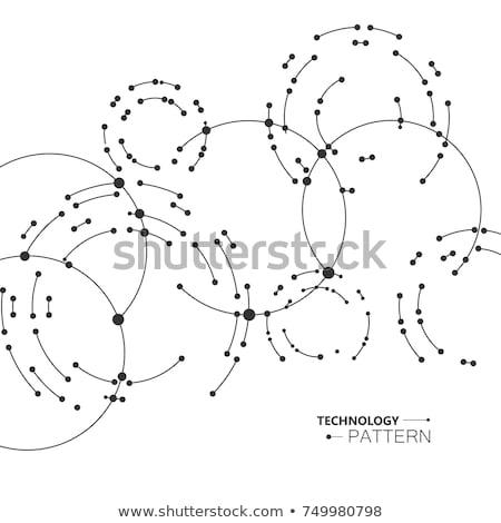Nöron hücre soyut dizayn bilgisayar vücut Stok fotoğraf © 4designersart