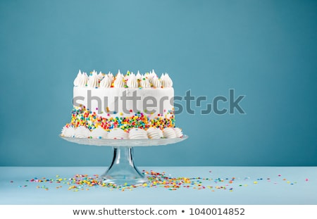 Stock photo: Colorful cake