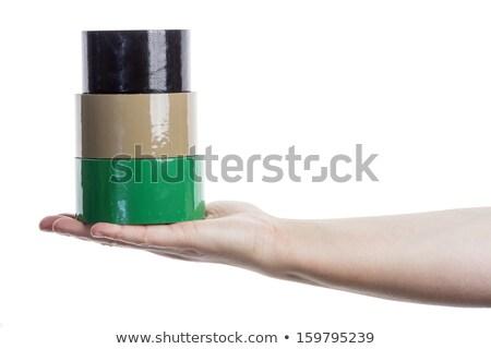 手 塔 孤立した 白 ストックフォト © Taigi