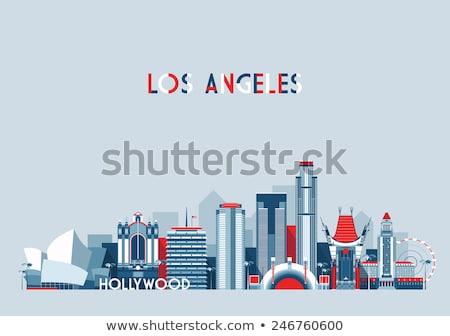 los angeles city flag Stock photo © tony4urban