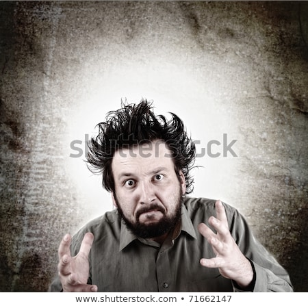 Angry menager Stock photo © badmanproduction