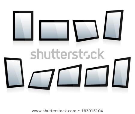 Unterschiedlich schwarz Touchscreen ipad Stil alle Stock foto © fenton