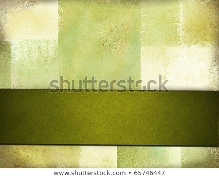 Olive-green ribbon Stock photo © dvarg