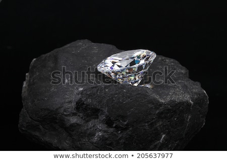 kaba · elmas · büyük · beyaz - stok fotoğraf © kacpura
