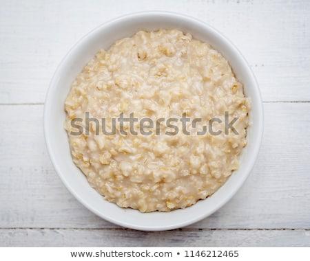 Oats porridge Stock photo © yelenayemchuk
