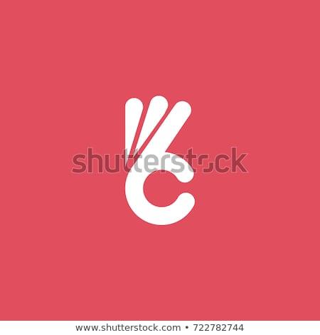 Vektör simgeler logo tasarımı pozitif kavramlar takım çalışması Stok fotoğraf © thanawong
