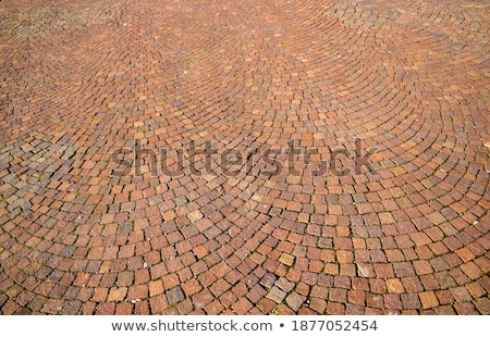 Pavement of Squares in Brown Colors. Stock photo © tashatuvango